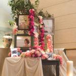 テーマ「すみれ~小さな幸せ・愛を届けます~」お花・装飾編