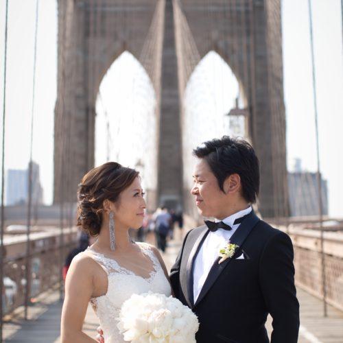 ニューヨークで写真撮影<街中&挙式会場編>