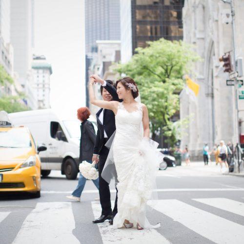 ニューヨークで写真撮影<街中編>