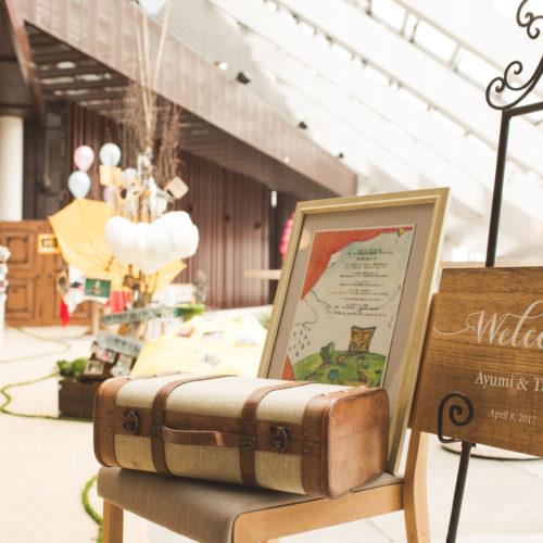 結婚式の受付・ウエルカムスペースのアイテム